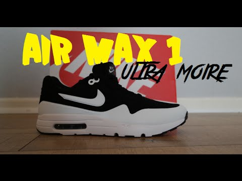 watch 3affe a99ea NIKE AIR MAX 1 Ultra Moire Unboxing   On Feet