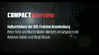 Exklusiv: COMPACT-Interview mit Andreas Kalbitz und Birgit Bessin (AfD Brandenburg)