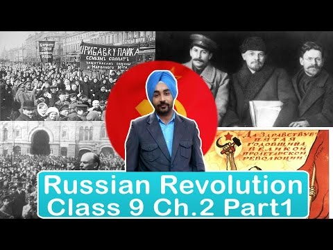 RUSSIAN REVOLUTION PART 1 CHAPTER 2 CLASS 9 IX HISTORY | Epic History
