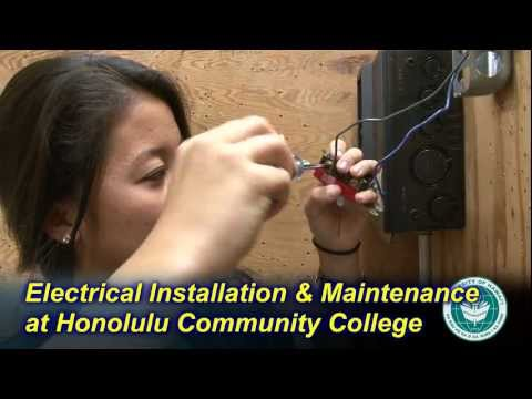 Electrical Maintenance and Installation Technology at Honolulu Community College