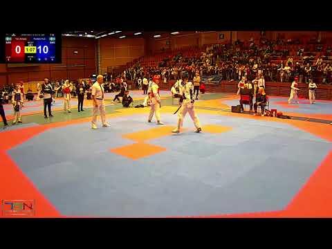323  Frederik Emil Olsen, Soo Shim TKD Klubb vs  Taha Zahedy, Chae Taekwondo Sweden 22 2