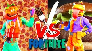 FOOD FIGHT LTM - Tomato King VS Burger Chef - NEW Turret !|Fortnite LIVESTREAM