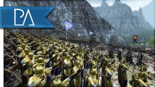 Repeat youtube video AMAZING ELVEN LAST STAND - Third Age Total War Gameplay