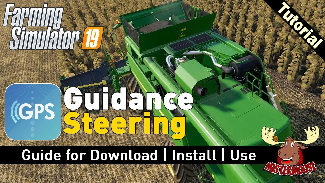 GPS for FS19 | Guidance Steering Mod by Wopster | How to Download, Install and Use