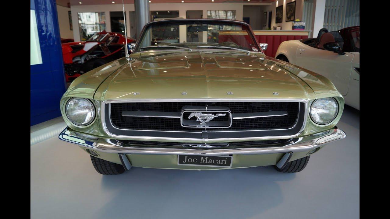 1967 ford mustang convertible v8 4 speed manual at joe macaris showroom