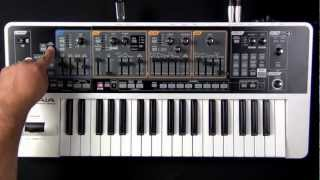 Roland Gaia SH-01 - How to Save User Patches to USB Memory