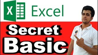 MS Excel Secret Basic Tricks/Features/Tips In Hindi / Excel Basic Option In Hindi