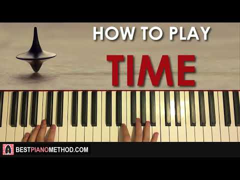 HOW TO PLAY - Inception - Time - Hans Zimmer (Piano Tutorial Lesson)