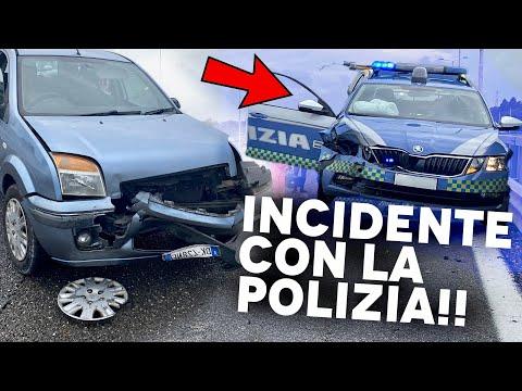 HO FATTO UN INCIDENTE CONTRO LA POLIZIA IN AUTOSTRADA