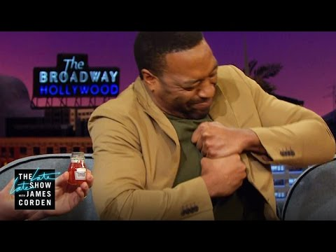 Tiny Ketchup Bottle vs the Mighty Chiwetel Ejiofor