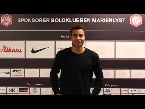 FODBOLD: Interview med ny Marienlystspiller - Derrick Nissen