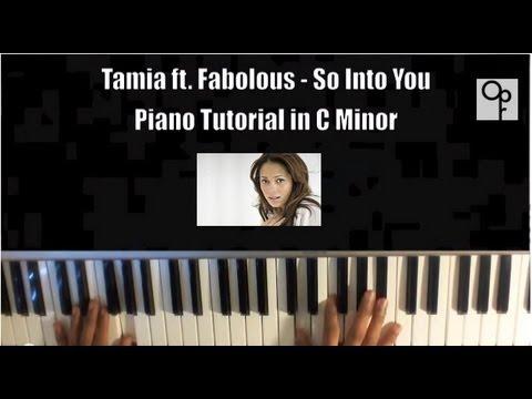 Tamia Feat. Fabolous - So Into You Piano Tutorial