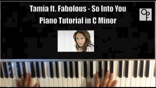 Tamia Feat. Fabolous - So Into You Piano Tutorial