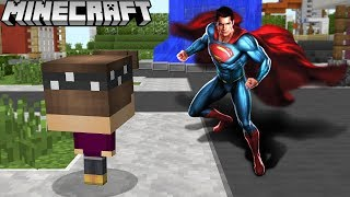 SUPERMAN RETTET MICH IN MINECRAFT!