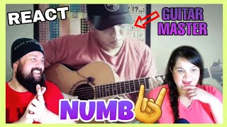 Download REACTION: ALIP BA TA - NUMB (LINKIN PARK FINGERSTYLE COVER)