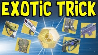 Destiny 2 - EXOTIC ENGRAM TRICK TO GET WHAT YOU WANT!