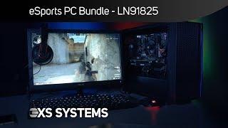 Scan Esports gaming PC Bundle with ASUS Cerberus peripherals