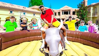 2Hype Mechanical Bull Riding Challenge!