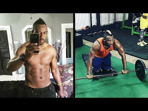 Hard Workout by Andre Russel in Gym - Cricket