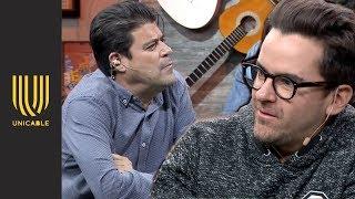 """""""El Burro"""" Van Rankin desmiente escena de la serie sobre Luis Miguel   Miembros al aire"""