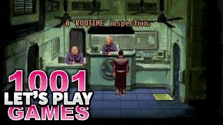 Beneath a Steel Sky (DOS) - Let's Play 1001 Games - Episode 254