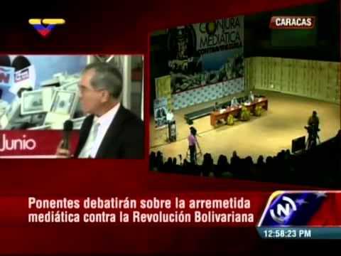 Foro Conjura Mediática: Víctor Ríos entrevistado por Luis Guillermo García