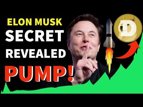 DOGECOIN GOING CRAZY! Elon Musk Secret Revealed!! THE DOGE  PUMP IS REAL!