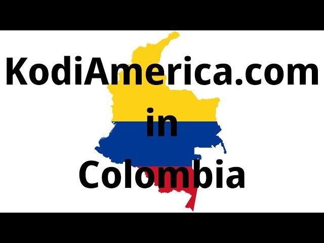 KodiAmerica.com in the barrio of Medellin, Colombia