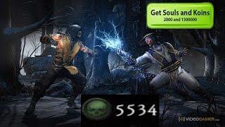 HOW TO GET FREE SOULS/KOINS MORTAL KOMBAT X | iOS, NO JAILBREAK