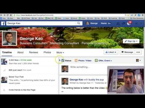 How to put a call to action in your Facebook video
