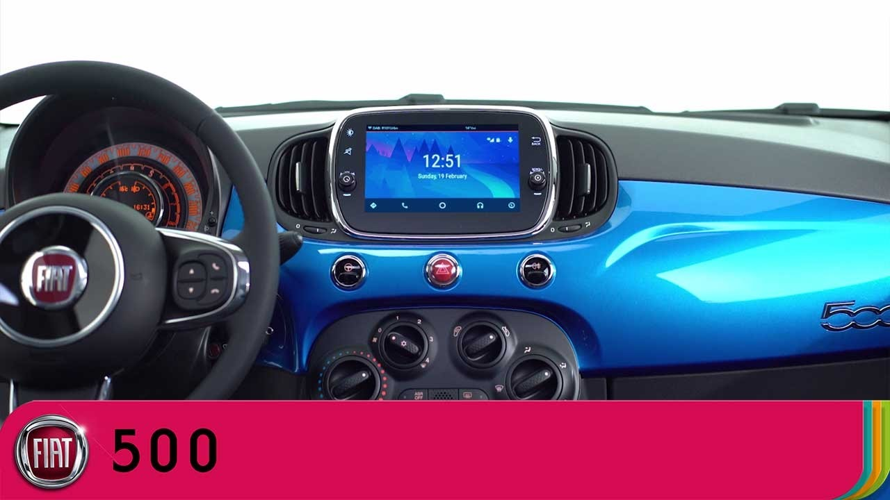 Fiat 500 Mirror - Send and receive messages - Android Auto | Fiat UK