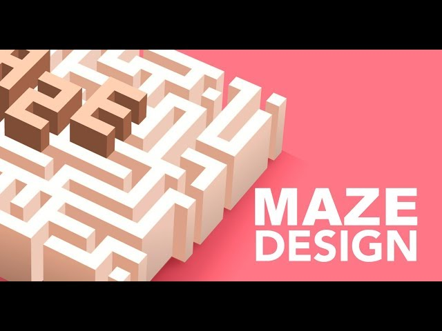 Maze Design | Adobe Illustrator/Photoshop | Graphic design