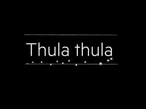 Thula thula. Cor sOns