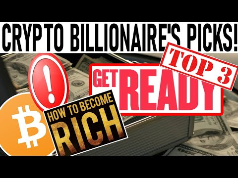 CRYPTO BILLIONAIRE'S TOP 3 COIN PICKS! TURN $20k INTO $800K! CRYPTO APPROVED BY US GOV'T! DEFI GEM!