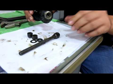 วิธีซ่อมดุมโม่ shimano     www.trinxformat.com