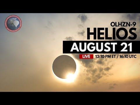 OLHZN-9 🔴Solar Eclipse Live Launch Operations | High Altitude Weather Balloon | Part 1 of 4
