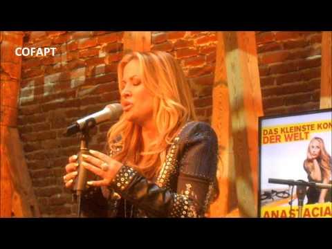 Anastacia - Sings 'Lifeline' for FFH radio in Marburg, Germany 16072014