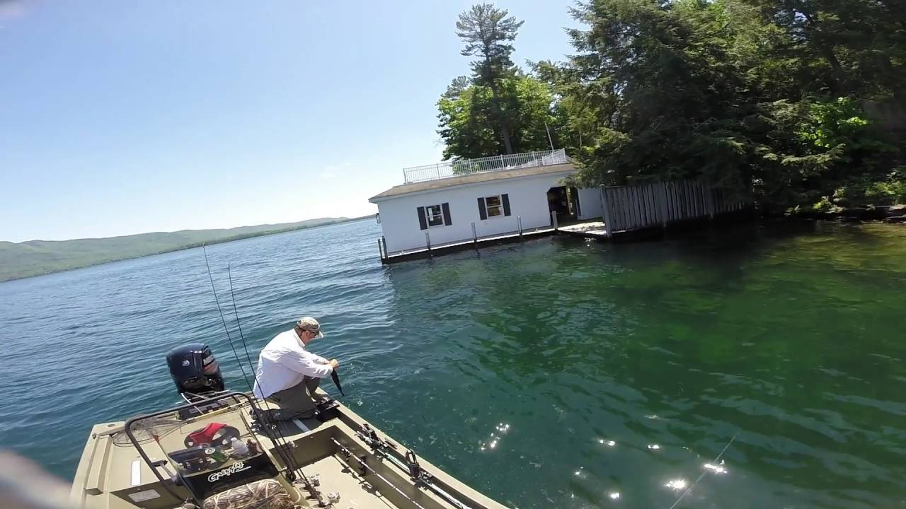 Bass fishing on lake george in new york may 31 june 2 for Fishing in new york