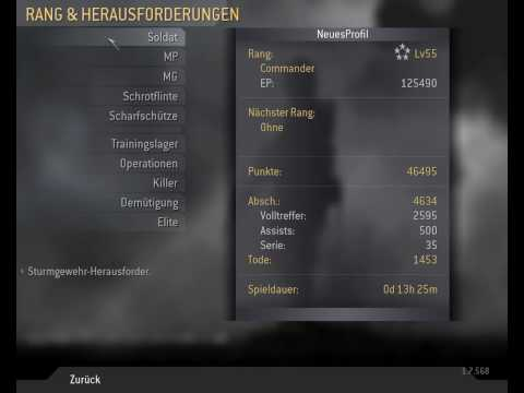 Call of Duty 4 (1.7) - alle goldenen Waffen Hack [HD]