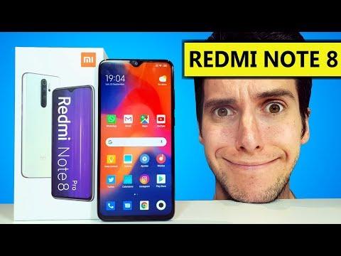 TENGO el Xiaomi REDMI NOTE 8 PRO!!!! Unboxing y PRUEBAS