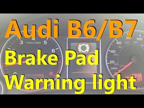How to reset or deactivate brake pad warning sensor for Mercedes benz brake wear warning light