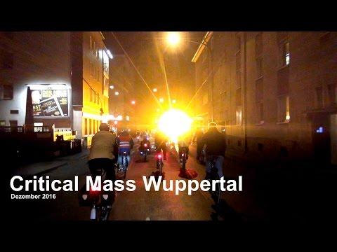 Critical Mass Wuppertal - Dezember 2016
