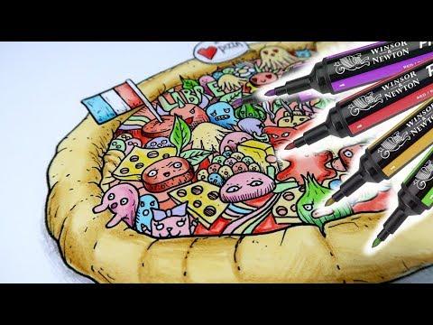 DOODLE Art : Je dessine la pire PIZZA !!