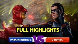 Full Highlights: Dabang Delhi K.C. vs U Mumba   Sports Tak