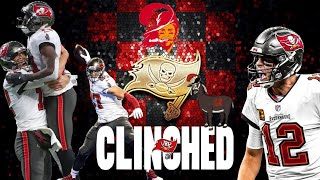 Tom brady threw four touchdown passes in the only half he needed to play and tampa bay buccaneers went on rout detroit lions 47-7 saturday, sealin...