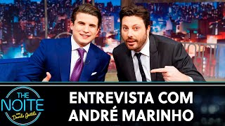 Entrevista com André Marinho | The Noite (15/10/19)