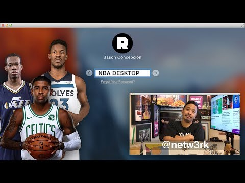 Kyrie, Happy Melo, and Rodger's Sherman's British Play-by-Play | NBA Desktop With Jason Concepcion