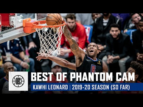 Kawhi Leonard's Best Shots from NBA's Phantom Cam