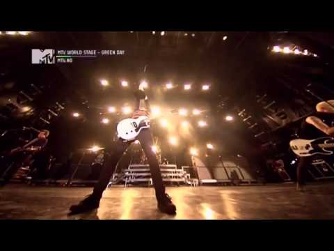 Green Day Live @MTV World Stage [2013] ~ HD Full Show