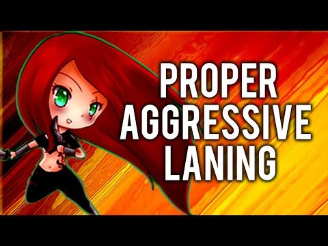 Katlife  PROPER AGGRESSIVE LANING WITH KATARINA  FULL INFORMATIVE COMMENTARY GAMEPLAY GUIDE